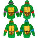 TMNT Reptilian Print Boys Costume Hoodie