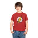 The Flash Lightning Bolt Logo Youth T-shirt