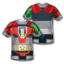 Voltron Defender of the Universe Sublimation T-Shirt
