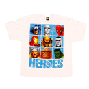 Marvel Heroes Grid White T-shirt