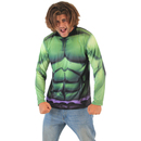 Incredible Hulk Sublimated Adult LONG SLEEVE Costume T-Shirt