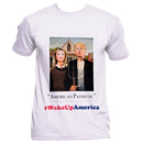 Trump Hillary American Pathetic Portrait T-shirt