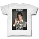 Scarface Al Pacino Smoking Cigar Framed T-Shirt