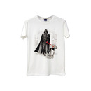 Darth Vader Through Hallway Walking At-At Dog T-shirt