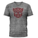 Transformers Autobots Logo Heather Gray T-Shirt
