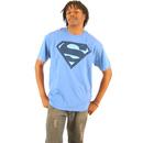 Superman Navy Shield Logo T-shirt