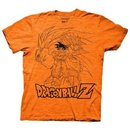 Dragonball Z Goku Collage Outline T-Shirt