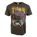 Junk Food The Mighty Thor Comic Steel T-shirt