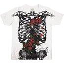 Grateful Dead Ribcage Cream T-shirt