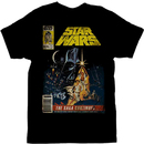 Star Wars The Saga Continues Magazine Cover T-shirt
