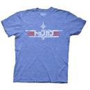 Top Gun Japanese Bootleg Logo T-shirt