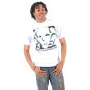 Jabbawockeez Dance Face Fill Logo White T-shirt