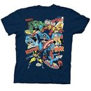 UV Collage Navy Youth T-shirt