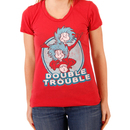 Double Trouble Thing 1 & 2 Juniors T-shirt