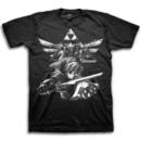 Skyward Sword Action Triforce T-shirt