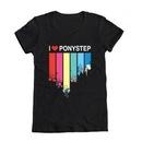 My Little Pony I Heart Ponystep Juniors T-Shirt