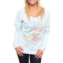 The Grateful Dead Flashdance Off the Shoulder Swim Fleece Sweatshirt