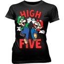 Mario & Luigi High Five Sheer T-shirt