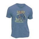 Batman & Robin In The Spotlight Slate T-shirt