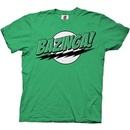 The Big Bang Theory Bazinga! Green or Blue T-shirt