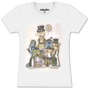 Sesame Street Steampunk Characters T-shirt