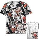 Spider-Man Red All-Over Belt Print T-Shirt