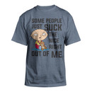 Stewie Griffin Suck The Nice Out T-shirt