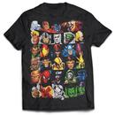 Superheroes Head Strong Black T-shirt