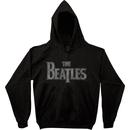 The Beatles Vintage Logo Zip Up Sweatshirt Hoodie
