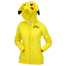 Juniors Pikachu Zip Up Hoodie