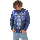 Venom Symbiote Sublimated Adult LONG SLEEVE Costume T-Shirt