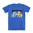 Friendship Is Magic Rainbow Dash and Applejack Bro Hoof T-shirt