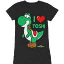 Nintendo I Heart Love Yoshi Tee