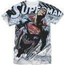 Superman Steel Man Graphic T-shirt
