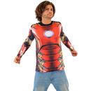 Iron Man Sublimated Adult LONG SLEEVE Costume T-Shirt