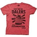 Vote No On Daleks Stop Extermination T-Shirt