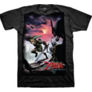Nintendo Legend of Zelda Twilight Princess Scene T-shirt