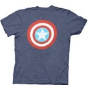 Captain America Distressed Shield Light T-shirt