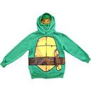 TMNT Boys Green Costume Hoodie Sweatshirt