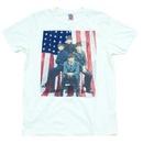 The Beatles American Flag Sugar T-shirt