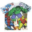 Superheroes Montage T-shirt