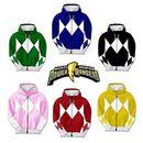 Power Rangers Costume Hoodie Sweatshirt