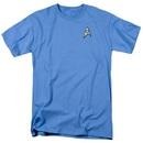 Star Trek Science Uniform Image T-shirt