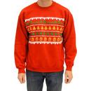 Gingerbread Marijuana Ugly Sweatshirt