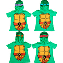 TMNT Boys Costume T-Shirt With Hoodie