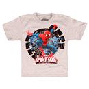 Ultimate Spider-Man Flying Hidden Glow in the Dark T-Shirt