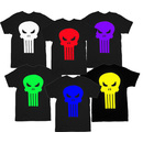 The Punisher Movie Skull Logo T-Shirt Tee