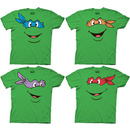 TMNT Teenage Mutant Ninja Turtles Face T-shirt