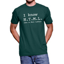 I Know HTML How to Meet Ladies T-shirt