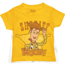 Toy Story Super Sheriff Woody Toddler Yellow T-Shirt with Cape